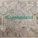 Cumberland old map