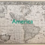 America old map
