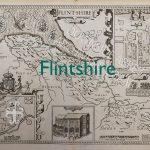 Old map of Flintshire