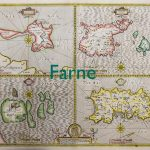 Old map of Farne
