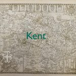 Old map of Kent