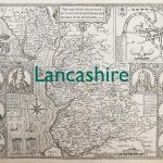 Lancashire old map