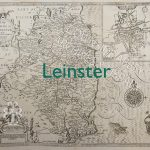 Old map of Leinster