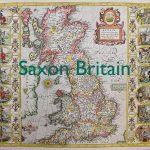Saxon Britain old map