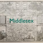 Middlesex old map
