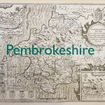 Pembrokeshire old map