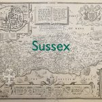 Sussex old map