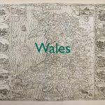 Old map of Wales