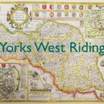 Yorks West Riding old map