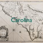 Old map of Carolina