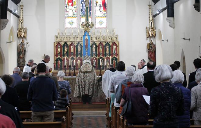 Downside Abbey Somerset Corpus Cristi
