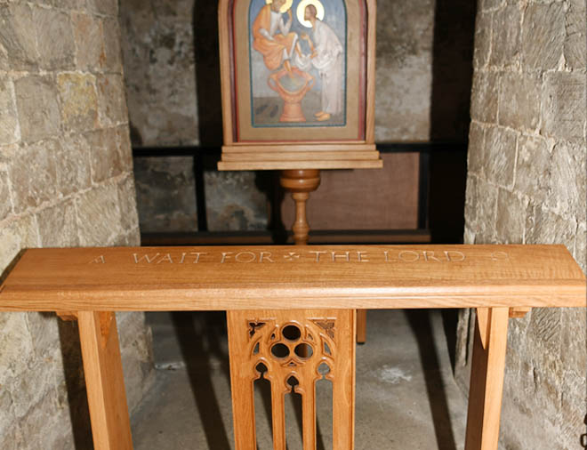 Canterbury Cathedral Downside Abbey furniture