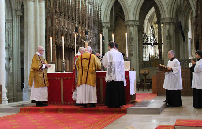 Downside Abbey Somerset Mass