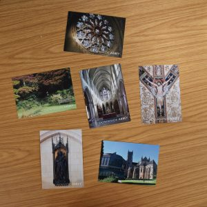 Downside Abbey postcards