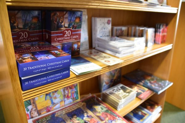 Christmas range in Abbey bookshop