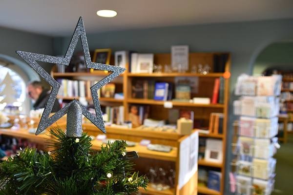 Christmas at the abbey visitor centre