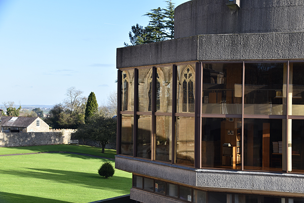 Downside Abbey Library