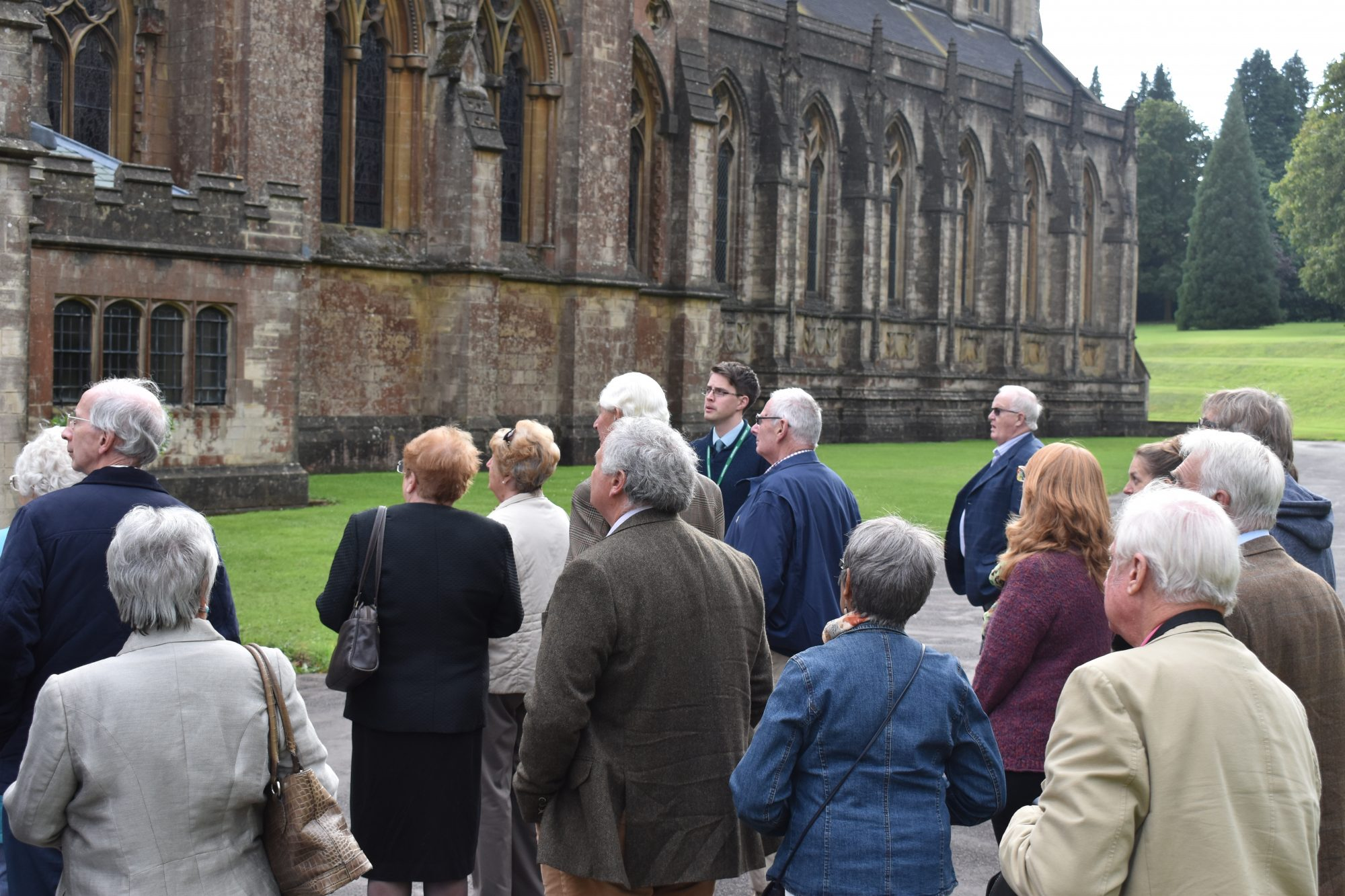 Library events, visitors to the abbey