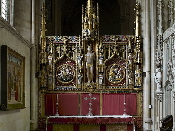 Alter in Downside Abbey