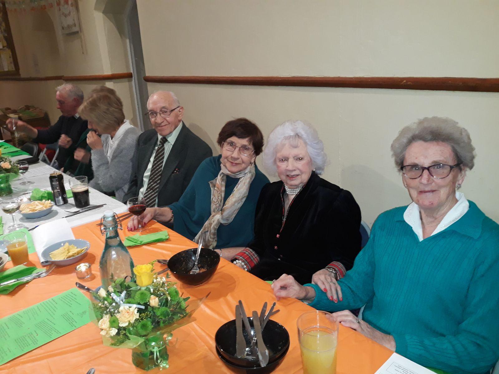 St Patricks day parish event