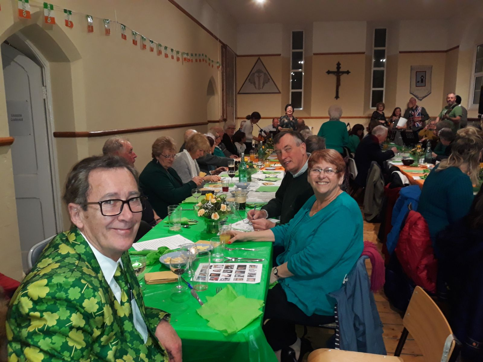 St Patricks day parish event
