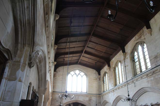 Inside of Downside Abbey Church