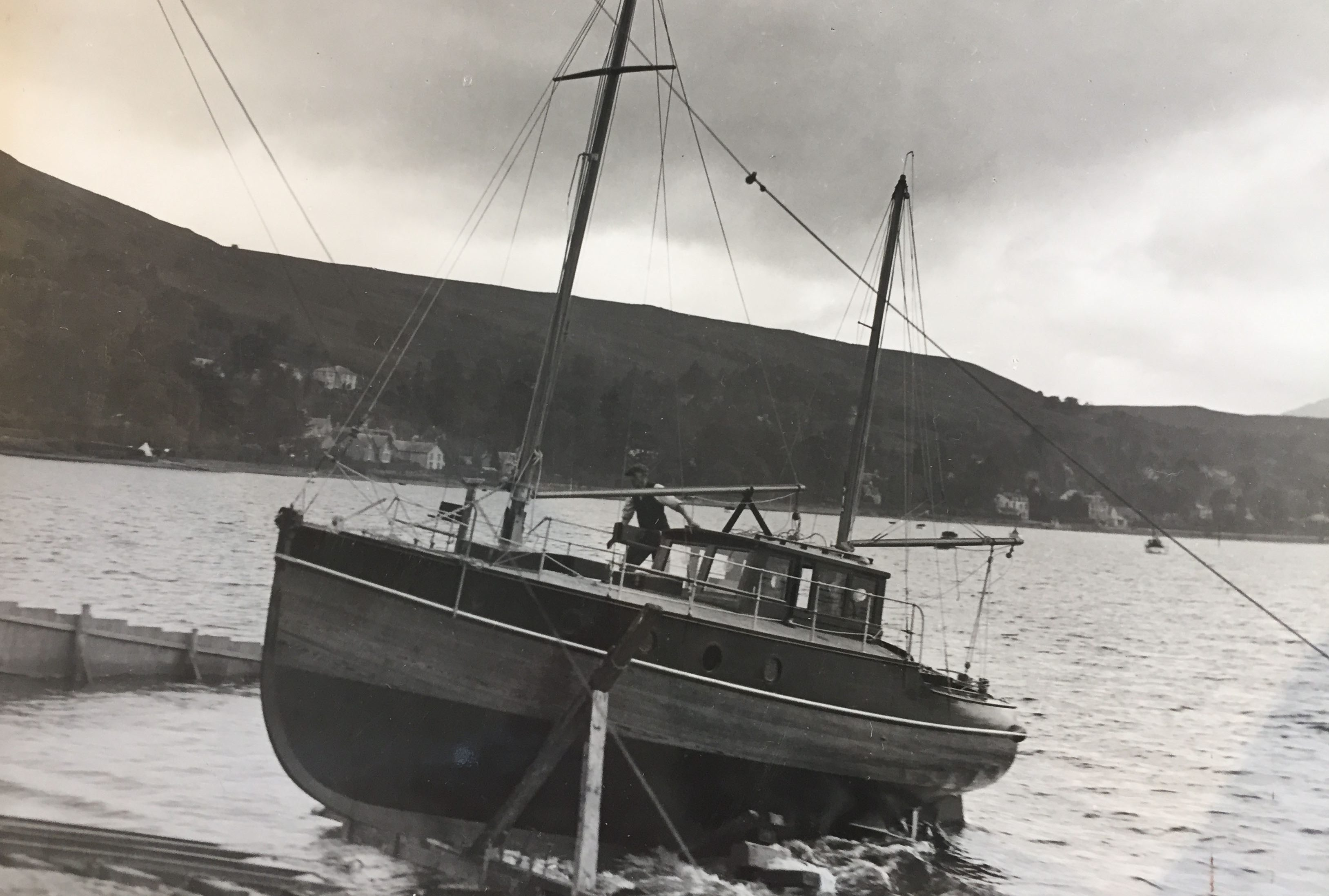 Old boat photograph