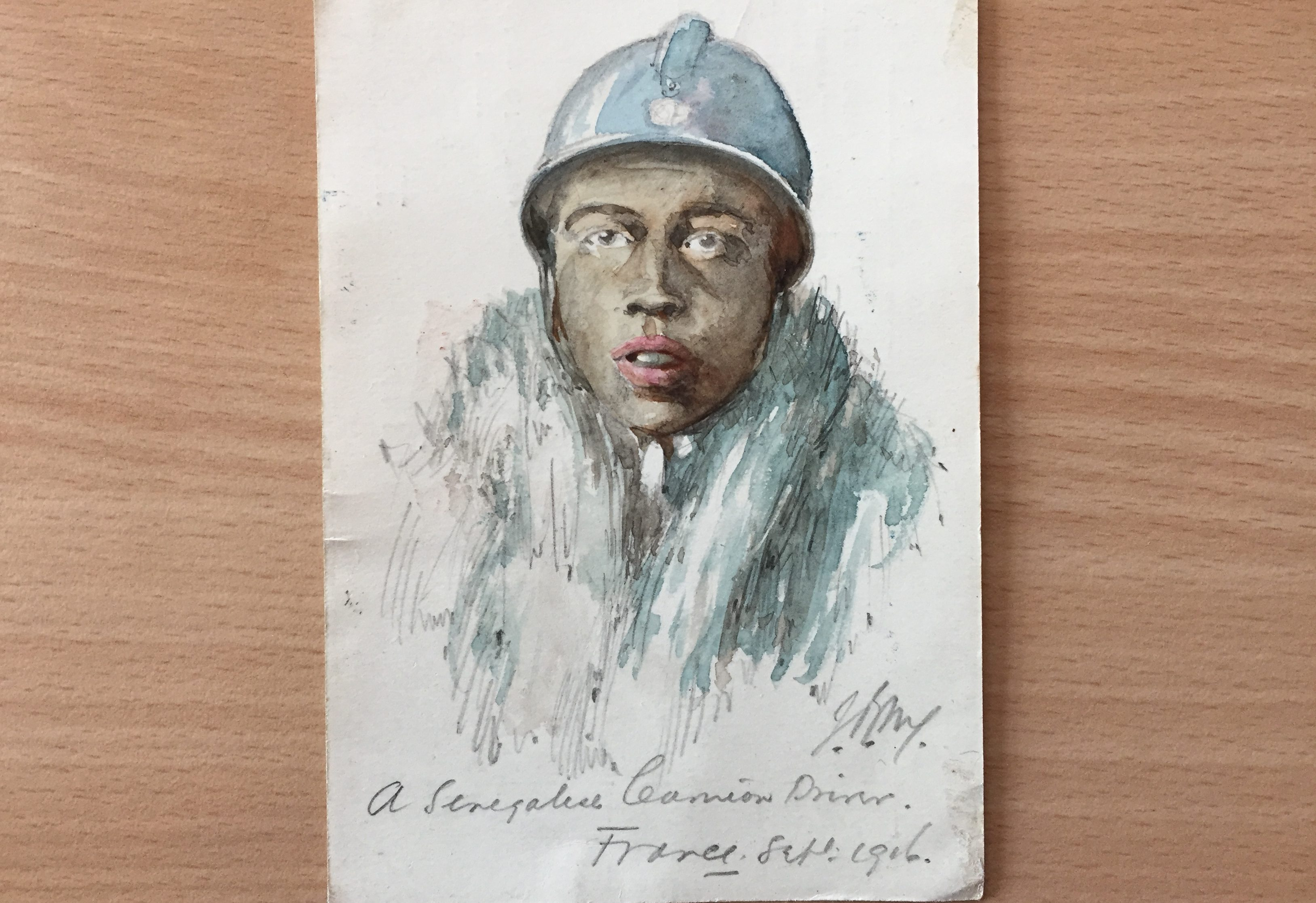 Great War watercolours