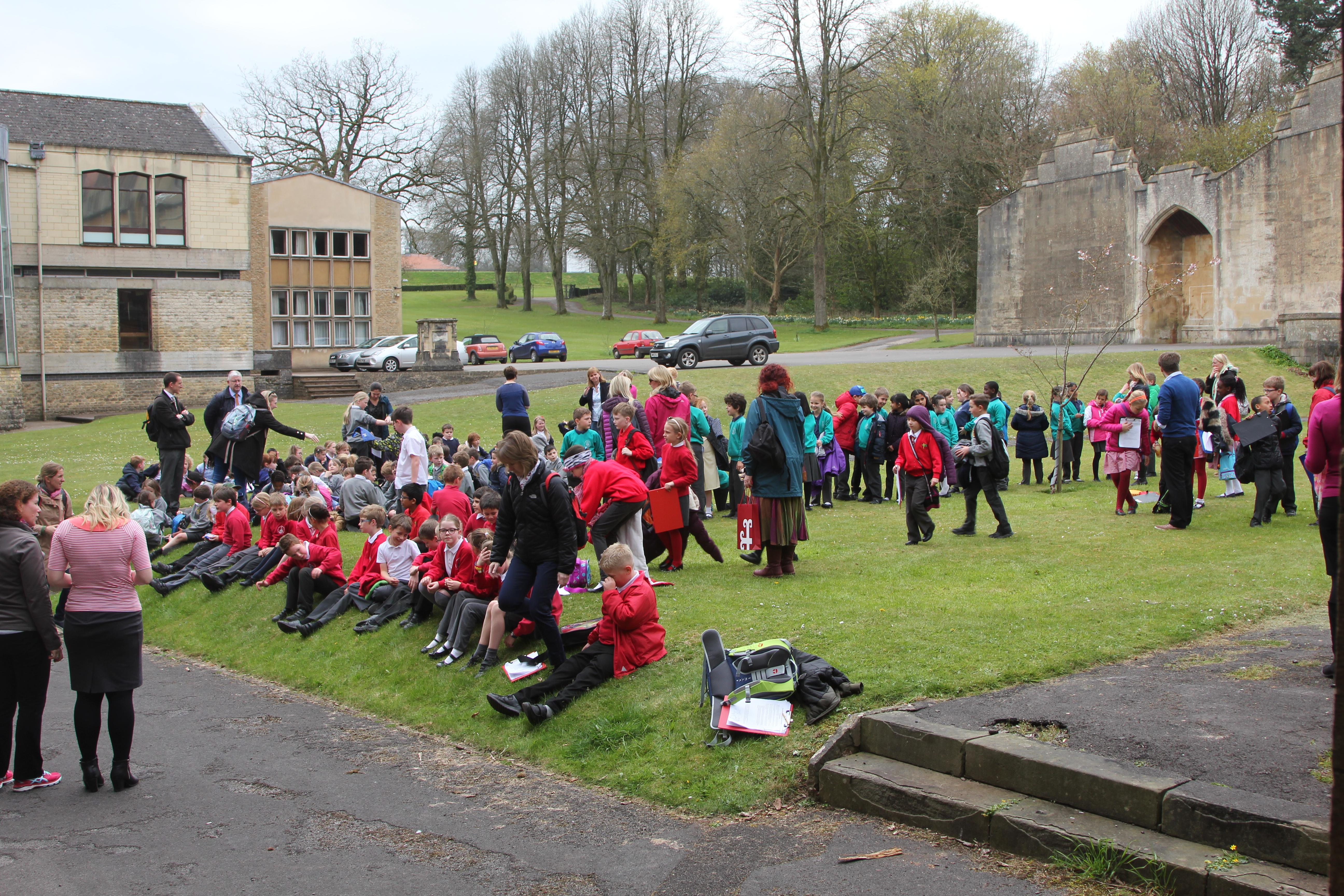 Catholic Primary School Visit