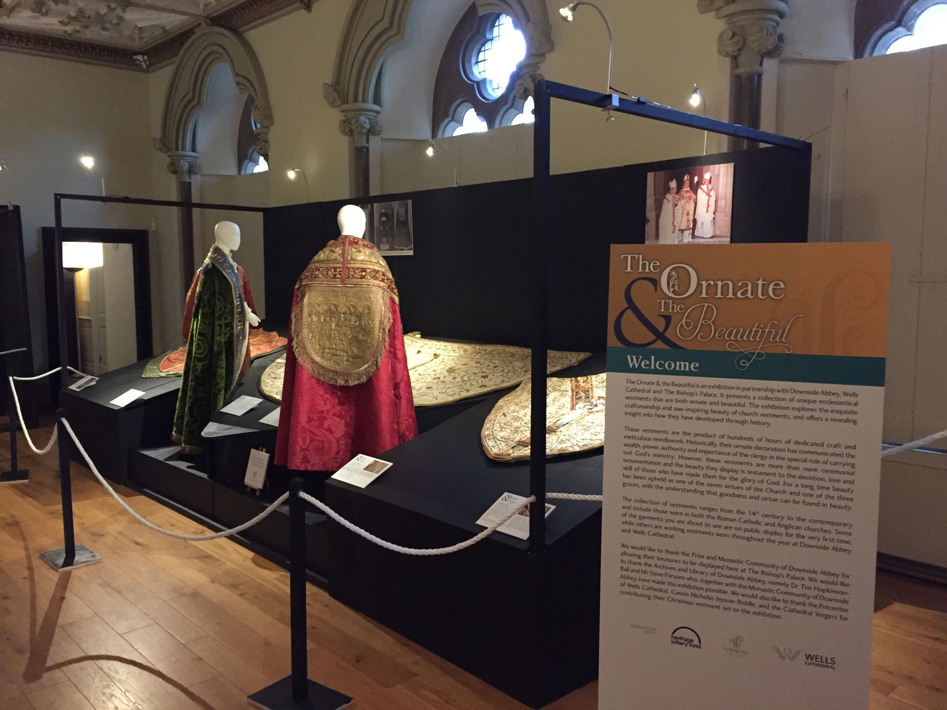 Downside Abbey exhibition