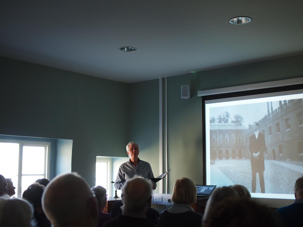 FR Joseph Coombe Tennant talk