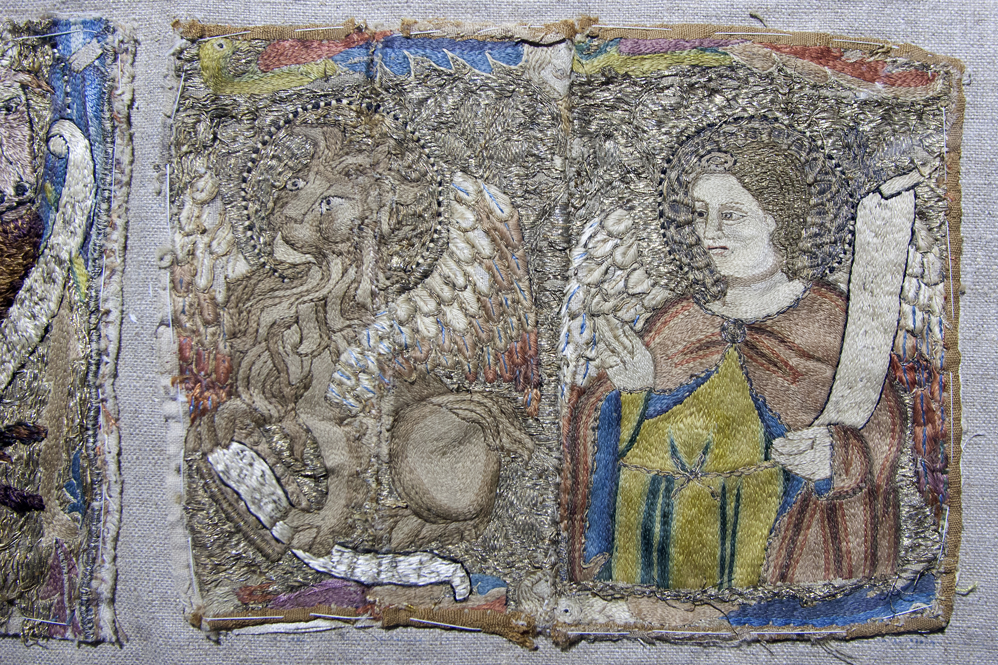 Embroidery from the cloister exhibition