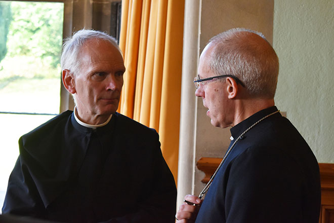 Abbey Monks welcome Archbishop