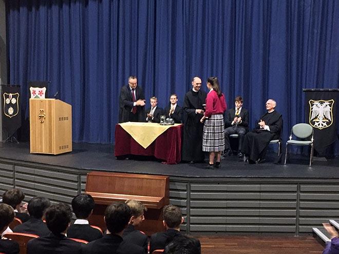 Abbot President Awards Prize