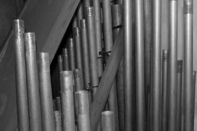 Compton organ pipes