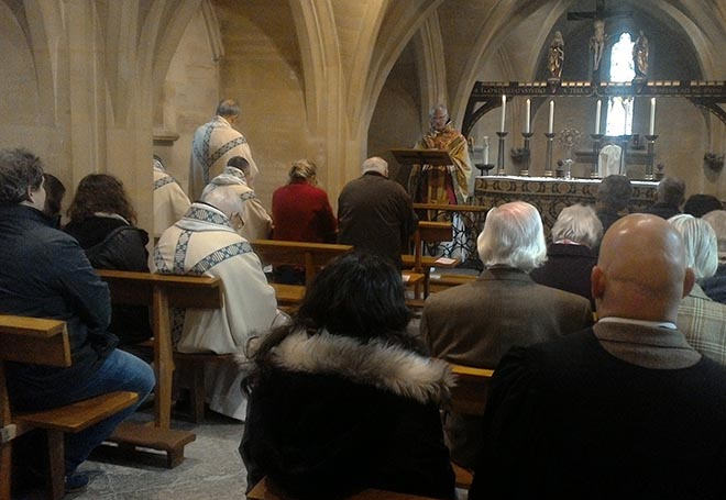 Perpetual adoration of the blessed sacrament