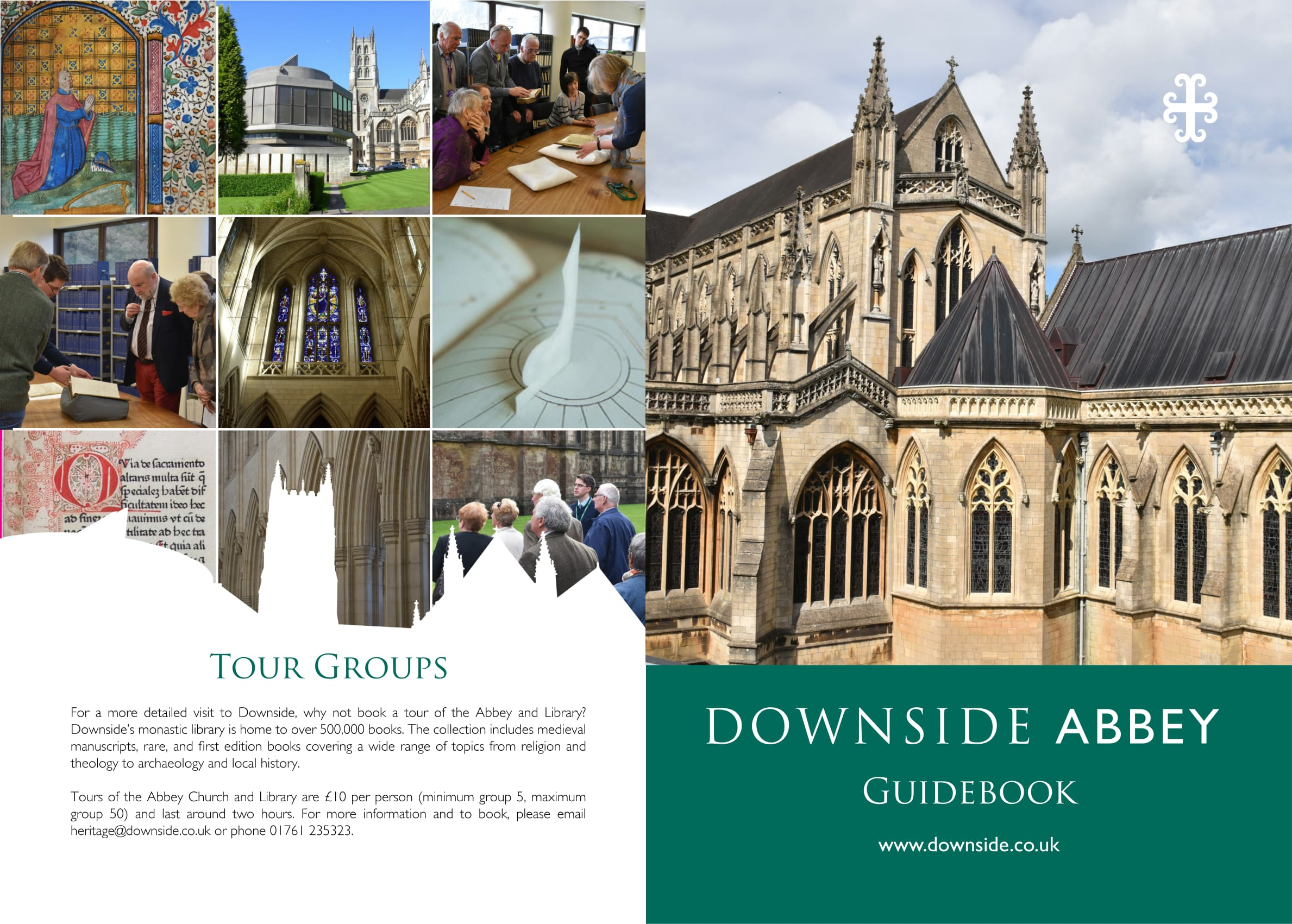 Downside abbey guidebook