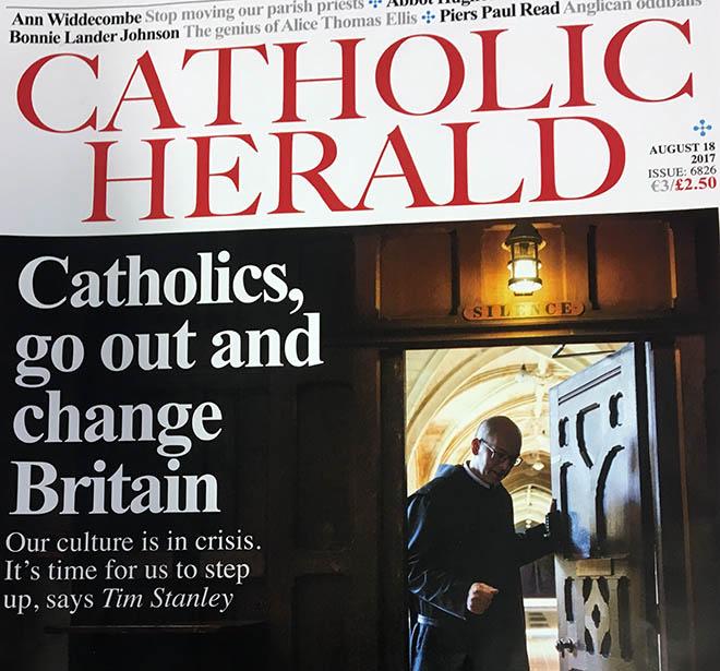 Catholic Herald front page