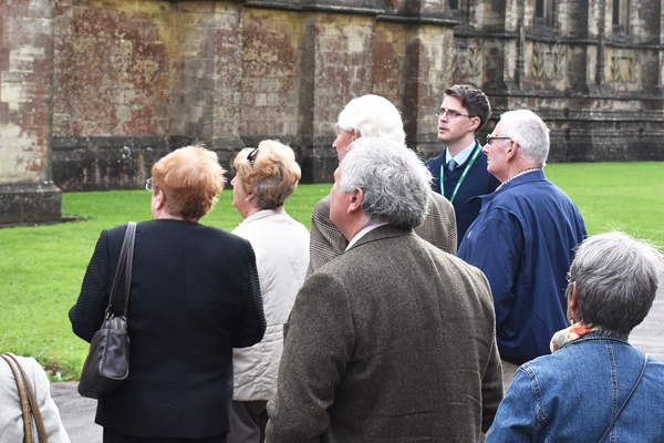 Tours of Downside Abbey & Library
