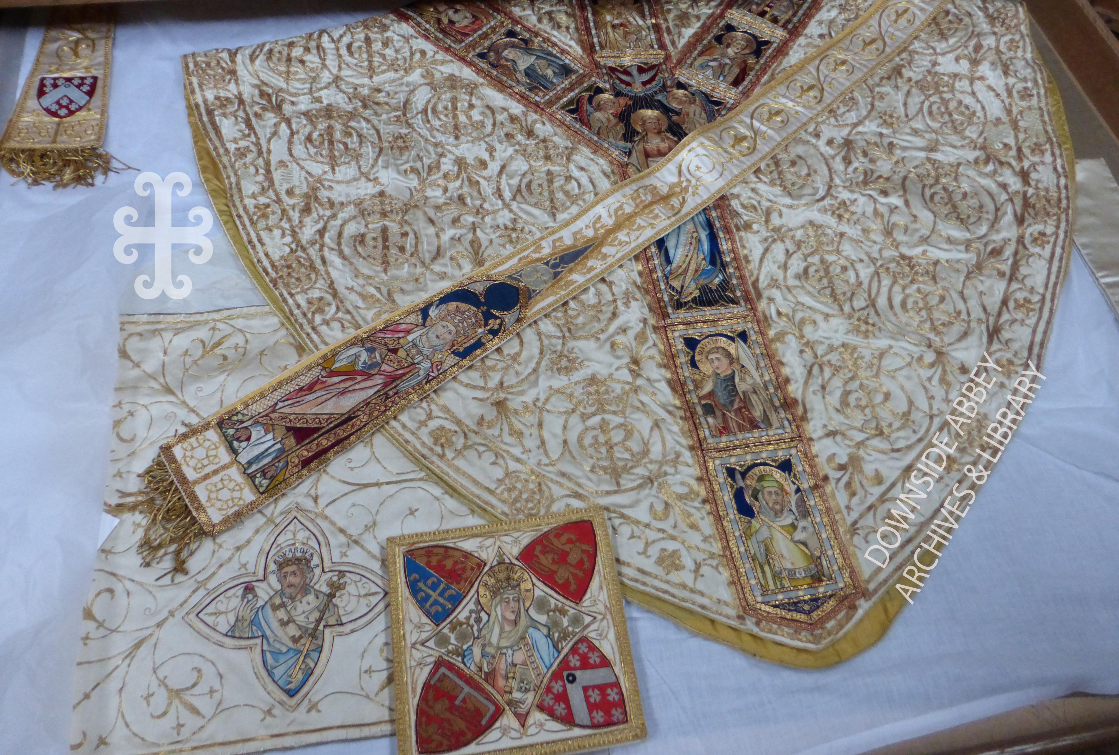Downside Abbey exhibition